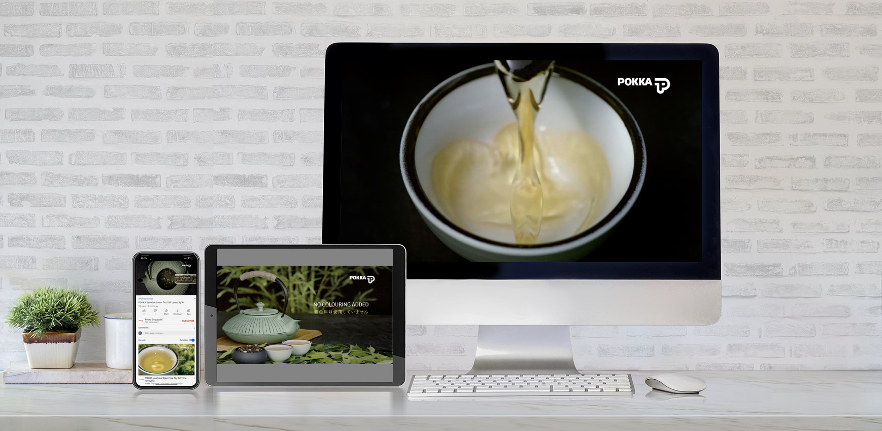 POKKA Jasmine Green Tea Video Ads With Most Digital Agency